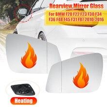 Vidro espelho retrovisor para bmw, esquerda/direita, para bmw f20, f22, f23, f30, f34, f36, f48, f45 e f31 f87 2010 2011 2012 2013 2014- 2016