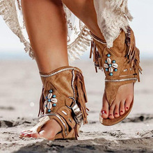 XNHN Women's Gladiator Sandals Clip Toe Ladies Boots Casual