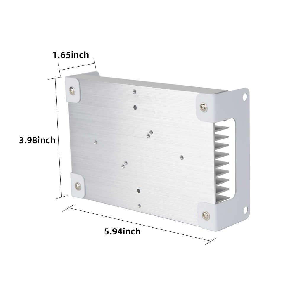 Marco de luz LED de aluminio disipador de calor radiador planta de cultivo de la lámpara para Chips LED CREE CXB3590 CITIZEN