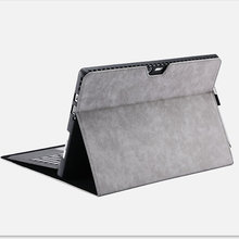 Premium magnetic smart cover for surface 7 6 5 4 x case with