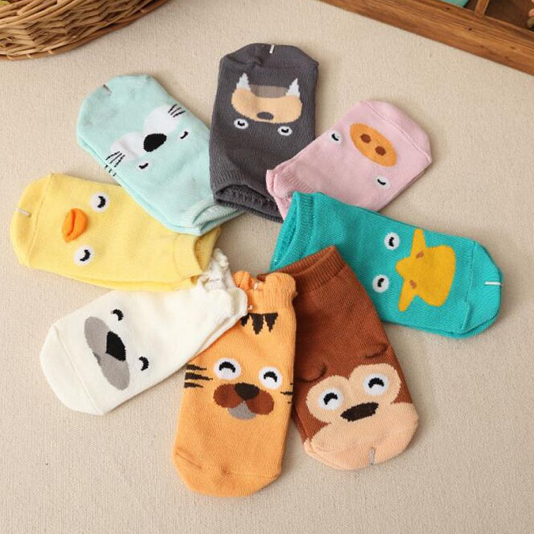 Cute Solid Color Woolen Socks Winter Thick Baby Terry Socks Warm Newborn Cotton Boys Girls Cute Toddler Socks Baby Infant Socks
