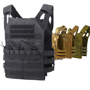 Tactical JPC Vest Simplified Version Army Combat Airsoft Paintball Military Protective Plate Carrier Vest Men Hunting Body Armor military army combat jpc plate carrier molle vest tactical outdoor hunting shooting men airsoft paintball protective body armor