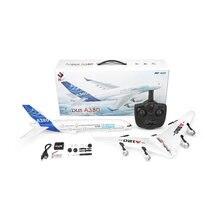 Радиоуправляемый самолет a380 wl toys 24g 3ch rc с фиксированным