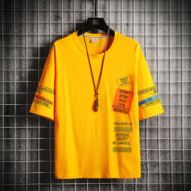 Hip Hop Streetwear Tshirt 6
