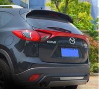 Para mazda CX-5 spoiler mid-wing tronco traseiro asa cauda do carro novo abs pintura de plástico cor