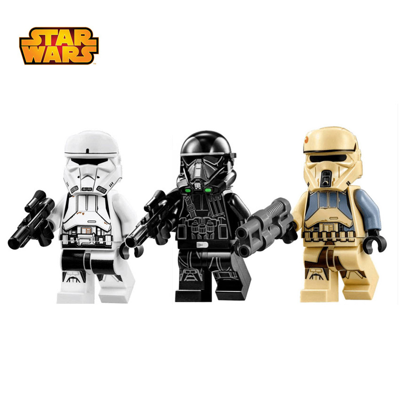 2019 Hot Star Wars Figures Imperial Vertank Pilot Death Trooper Shoretrooper Building Block Compatible With Legoelys