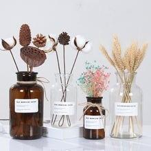 Стеклянная ваза скандинавского дизайна Европейское украшение