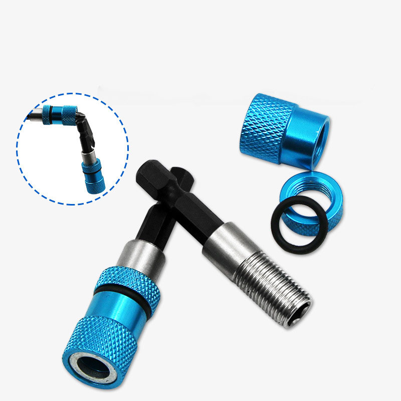 6.35mm Shank Head Strong Electric Screwdriver Magnetic Connecting Rod Extension Sleeve Quick Adapter Magnetic Detachable Rod
