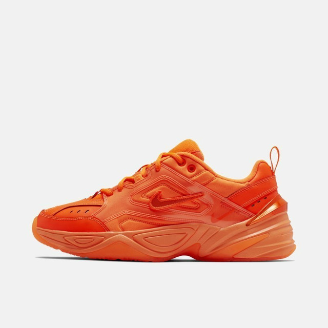 Nike M2k Tekno Men's Running Shoes Fluorescent Green Trend Color Outdoor Sports Shoes  CI5749 Original Authentic
