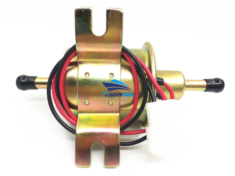 1 шт. универсальный 12 В Электрический топливный насос латунь материал HEP-02A болт низкого давления фиксирующая проволока Дизель Бензин