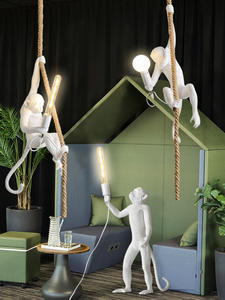 Lighting Decoration-Light Hanging-Lamp Resin-Product Nordic Loft-Pendant-Lamp Modern