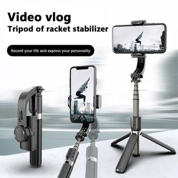 Samtian przenośny uchwyt stabilizator selfie stick stabilizatory gimbal nagrywanie wideo do wszystkich smartfonów stabilizatory na żywo tanie i dobre opinie 1-Axis Smartfony CN (pochodzenie) Bluetooth Handheld gimbal L08 Stabilizer Po tryb fotografowania 580MM ABS+Aluminium Alloy