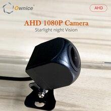 Ahd 1080 p câmera de visão traseira do carro visão noturna hd para android universal rádio do carro sistema multimídia player backup veículo estacionamento