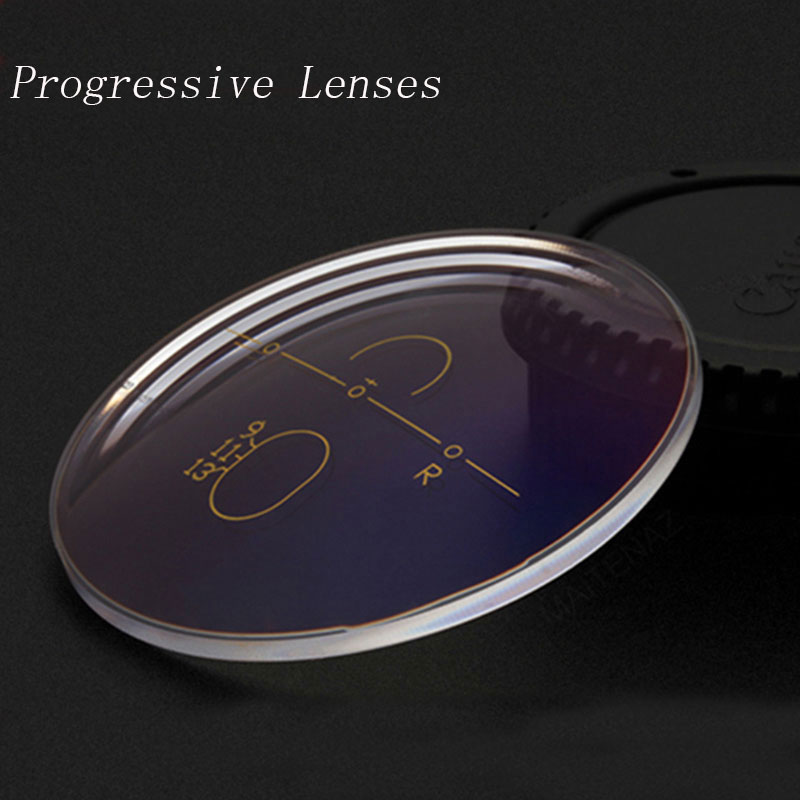 1.56 1.61 1.67 1.74 Free-from Multifocal Progressive Prescription Optical Eyeglasses Spectacles Lenses 1 Pair Lenses