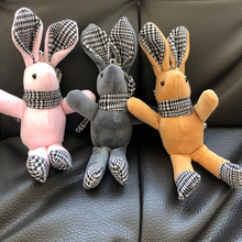 2020 Cute Wishing Rabbit Keychain Animal Doll Plush Toy For Children Baby Birthday Christmas key chains