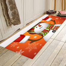 Christmas Pattern Kitchen Mat Hallway Entrance Doormat Home 3D printed Decoration Big Carpets for Living Room Bedroom Floor Rugs(China)