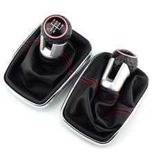 Для Volkswagen VW 1999-2004 Golf 4 IV MK4 GTI R32 Bora Jetta MT 12 мм 5/6 ручка переключения рулевого механизма автомобиля рычаг переключения передач Gaitor Boot