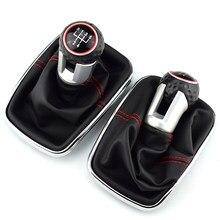 Per Volkswagen VW 1999-2004 Golf 4 IV MK4 GTI R32 Bora Jetta MT 12 millimetri 5 / 6 velocità Auto Leva Del Pomello Del Cambio del Cambio Gaitor Boot