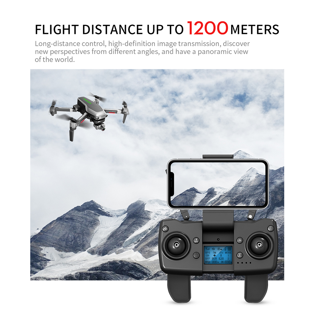 Image 4 - L109 Pro GPS Profissional Drone with HD 4K Gimbal Camera 5G WiFi FPV 1.2km control Brushless Motor RC Quadcopter Helicopter ToyRC Helicopters   -