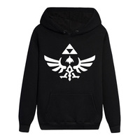 Hot Game The Legend of Zelda Long Sleeves Skyward Sword Noctilucent Hoodies Casual Sweats Loose Coat Pullover Hooded Tops