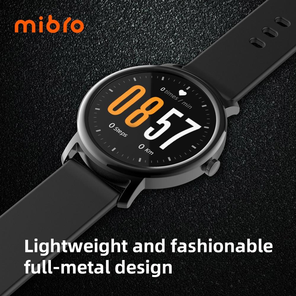 Mibro Air Smart Horloge Mannen Vrouwen IP68 Waterdichte Bluetooth 5 Sleep Monitor Fitness Hartslag Tracker Smartwatch Android Ios 5