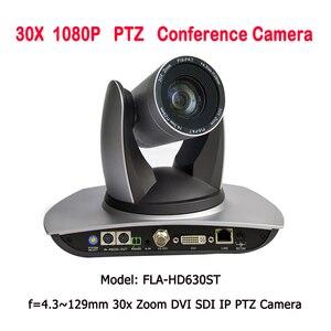 Image 1 - Камера видеонаблюдения, радиус действия 2MP 30X Zoom 3G SDI DVI IP, PTZ камера для церкви, прямое вещание