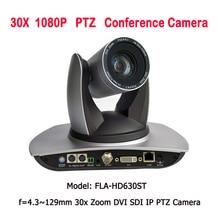 Uzun mesafe 2MP 30X Zoom 3G SDI DVI IP Video konferans PTZ kamera kiliseler için canlı yayın