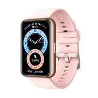 Reloj inteligente deportivo resistente al agua, con control del ritmo cardíaco y monitor, seguidor Fitness