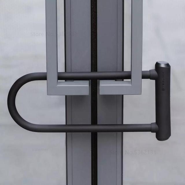 Xiaomi YeeLock Smart Bluetooth u-lock une clé déverrouillage de la clé dautorisation à distance de téléphone portable pour la porte de lentreprise antivol