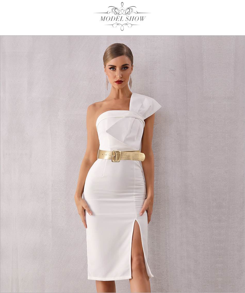 Sleeveless Dress Summer Celebrity 5