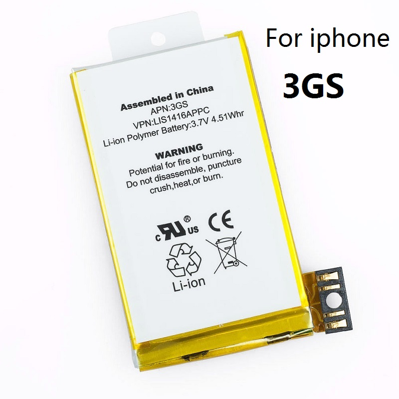 Original Antirr Replacement Battery For Apple IPhone 3GS 8gb 16gb 32gb 616-0431 616-0433 616-0435 616-0436  MC137LL 3790233