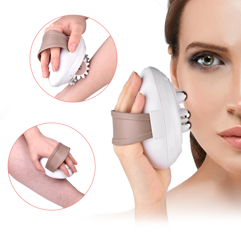 Elektrische Körper Massager Entlasten Müdigkeit Roller Anti-Cellulite Massieren Gewicht Verlust Abnehmen Massager Gesichts Körper Schlanker Gerät