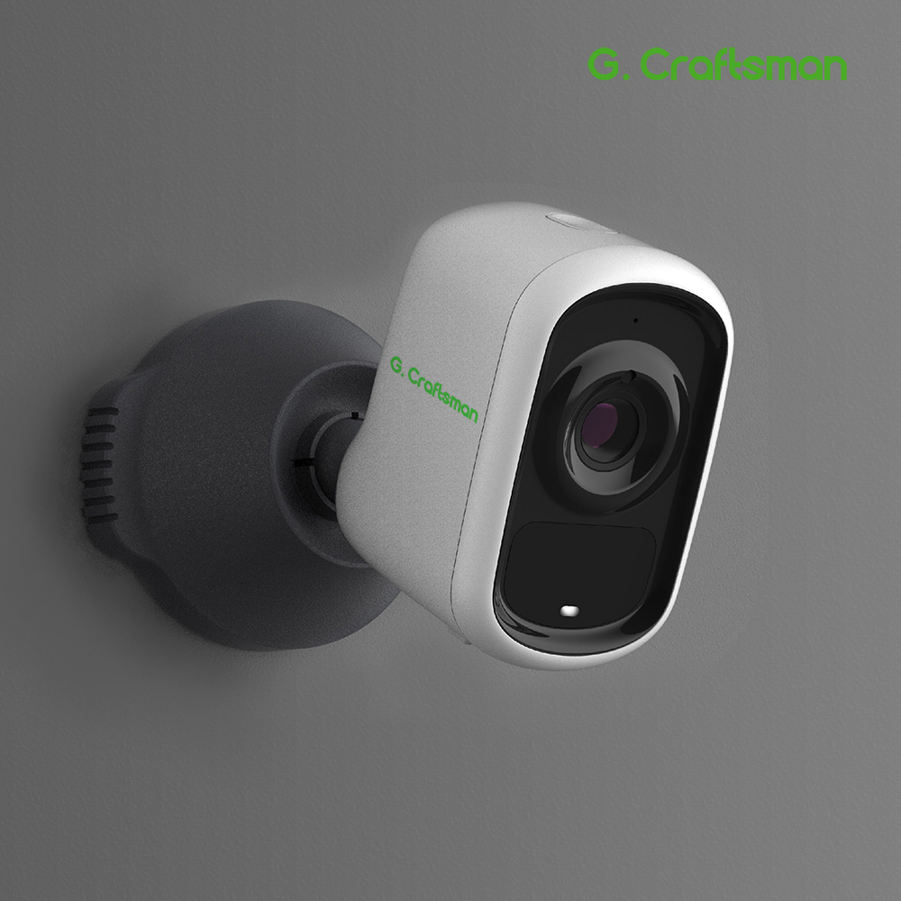 Smart Battery Camera Cloud Storage 1080p Wire-Free Security Camera With AI Inside Weatherproof Outdoor PIR APP Alarm Push