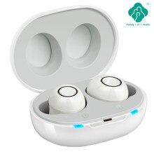 Inteligente novo estilo aparelho auditivo recarregável de baixo nível de ruído de operação de um clique de uma ampla frequência idosos em-orelha aparelhos auditivos surdos