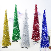 DIY Sequins Star Christmas Tree New Year Gifts Kids Toys Artificial Tree Wall Hanging Ornaments Christmas Decoration for Home