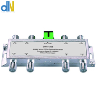 10pcs/lot ORH 1208 8 ways CATV 47 1000MHz mini FTTH negative optical receiver