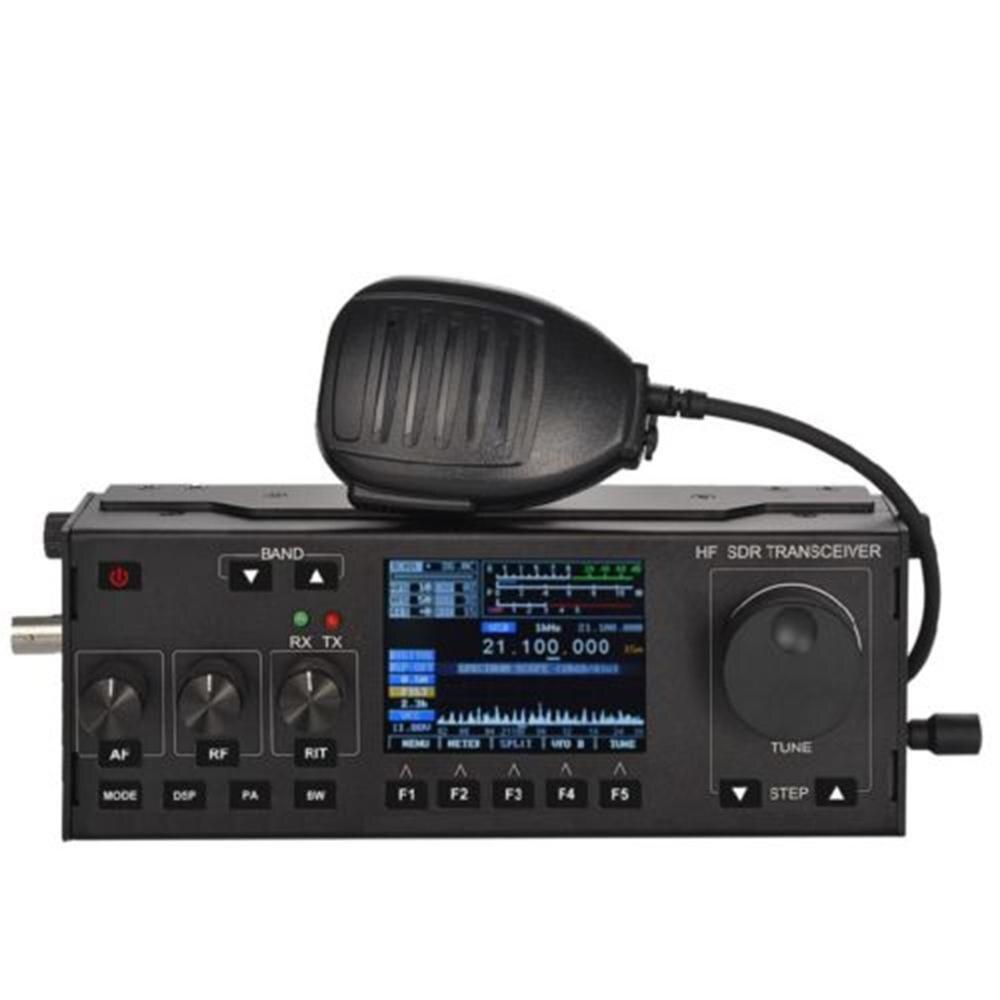 RS-918 SSB HF SDR émetteur-récepteur 15W puissance Radio Mobile RX: 0.5-30MHz TX: toutes les bandes de jambon Instrument multifonctionnel