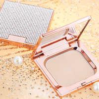 Shinny Diamond Soft Translucent Compact Pressed Powder Face Contour Palette Finishing Powder Setting Makeup Bare Whitening Skin