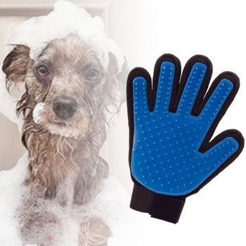Pet Grooming Glove for Cats Brush Comb Cat Hackle Pet Deshedding Brush Glove for Animal Dog Pet Hair GloveS for Cat Dog Grooming dog glove pet cat hair remover brush suede anti bite cleaning massage pet grooming glove puppy cats dogs hair deshedding combs