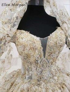 Image 5 - ปิดไหล่Gownsชุดแต่งงาน 2020 ซาอุดีอาระเบียความยาวเม็กซิกันVestido Novia Elegantชุดเจ้าสาวพร้อมVeils