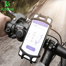 FLOVEME Bike Phone Holder Universal Motorcycle Bicycle Mobile Cell Phone Stand Handlebar Clip Holder For iPhone11 xiaomi Bracket