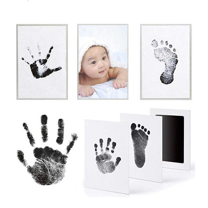 Kit d'empreinte d'empreinte d'empreinte de bébé Non toxique de soins de bébé respectueux de l'environnement