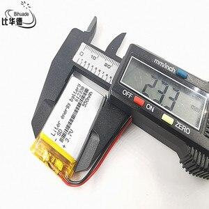 Image 3 - Good Qulity Polymer battery 550 mah 3.7 V 612338 smart home MP3 speakers Li ion battery for dvr,GPS,mp3,mp4,cell phone,speaker