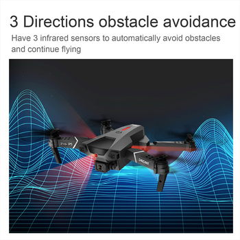 Teeggi P5 Mini Drone with HD 4K Dual Camera Professional Aerial Photography Infrared Obstacle Avoidance Quadcopter RC Helicopter 6