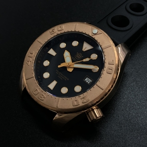 STEELDIVE1971S tin bronze man fully automatic mechanical watch 200 m diving waterproof luminous male table SPB101J1 fashion new