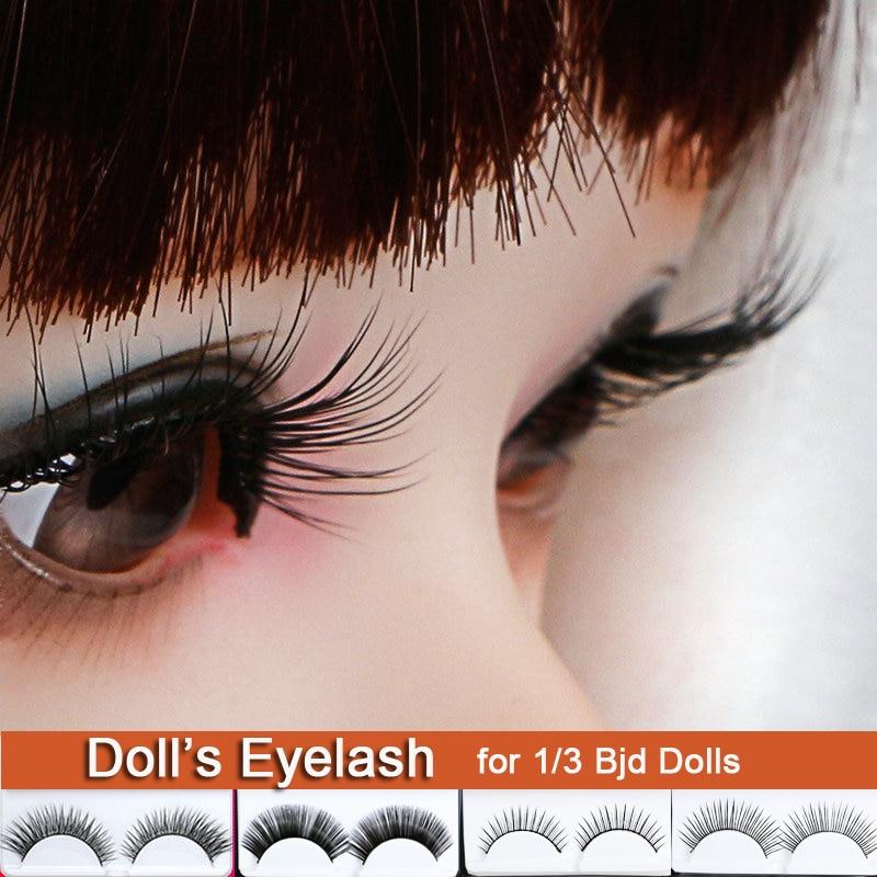 Doll's Eyelash Long Black Lashes False Eyelashes For 1/3 BJD Doll Toy Doll Accessories