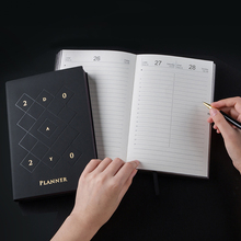 2017 2018 planner personal organizer business agenda notebook diary journal planner program calendar notepad a5 cuaderno 2020 English Agenda Planner Organizer Diary A5 Thick Notebook and Journal Weekly Monthly Travel Notepad School Business Handbook