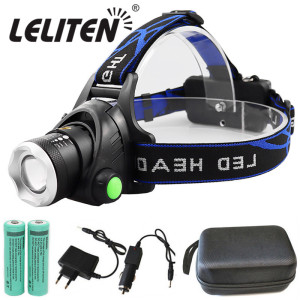 Portable zooming xml-t6 L2 V6 Led Headlamp waterproof ZOOM Fishing headlights Camping Hiking Flashlight With USB Cable(China)