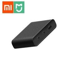 Originele Xiaomi ZMI Desktop Charger 65W PD3.0 3 Port USB 2C1A Voor Android iOS Schakelaar PD 3.0 QC Max solo c1 65w c2 18w A 18w