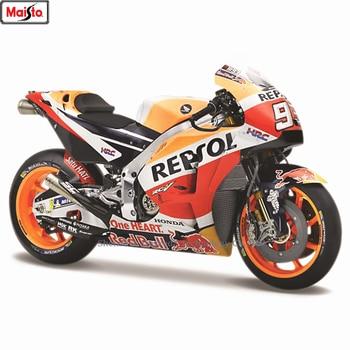 цена на Maisto 1:18 1:18 2018 Honda Repsol #93 Rossi original authorized simulation alloy motorcycle model toy